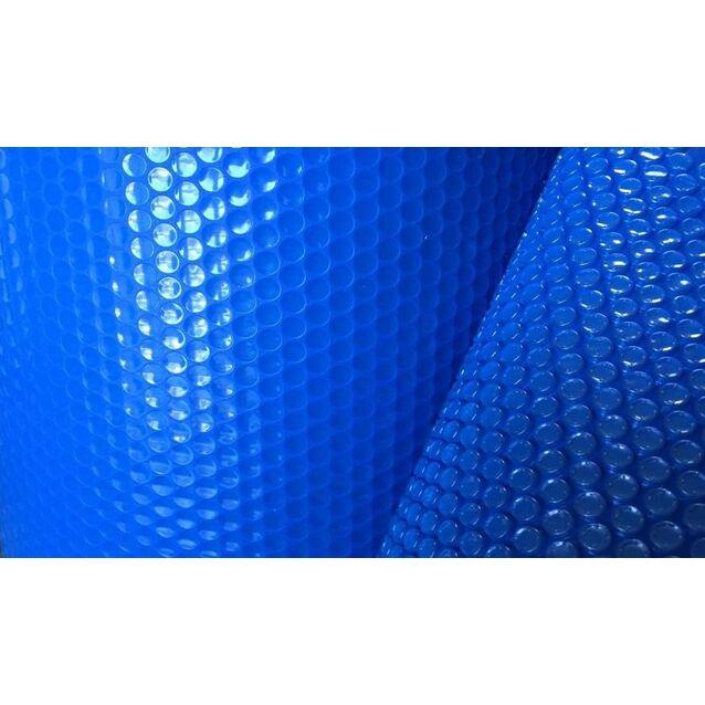 Солярная плёнка Aqualux. Плавающее пузырьковое теплосберегающее покрытие IZOSOLAR. Ширина рулона 400 см