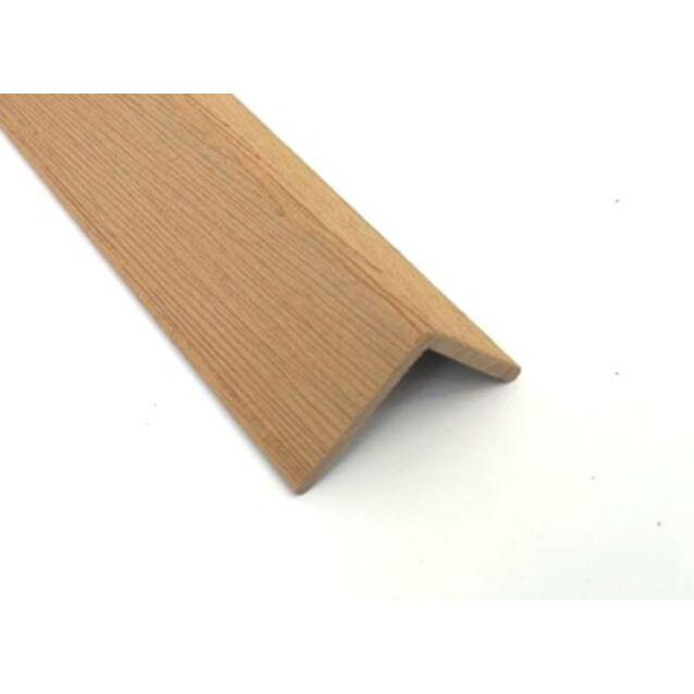 Декоративный уголок Terrapol, ширина 40 х 40 мм, толщина 4 мм, длина 3 метра