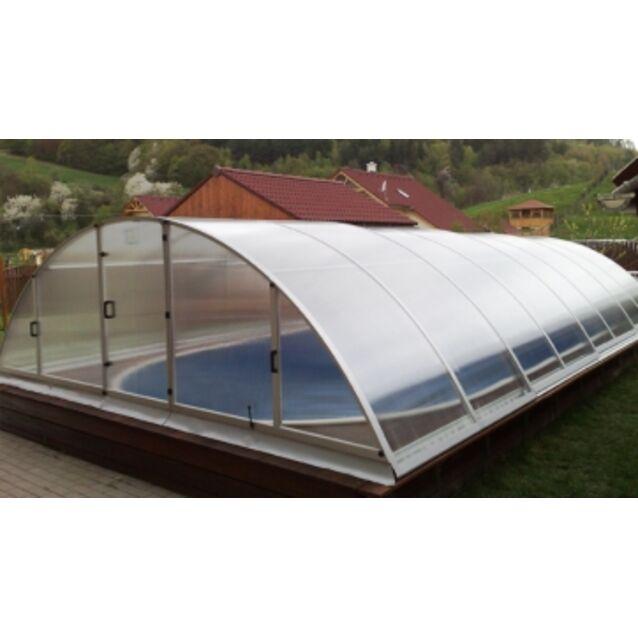 Павильон для бассейна KLASIK B, 4 секции, размер 8,6 х 4,7 х 1,3 м.
