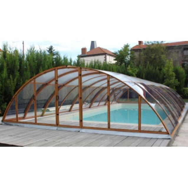 Павильон для бассейна KLASIK EXCELLENCE-C, размер 10,73 х 5,7 х 1,55 м.