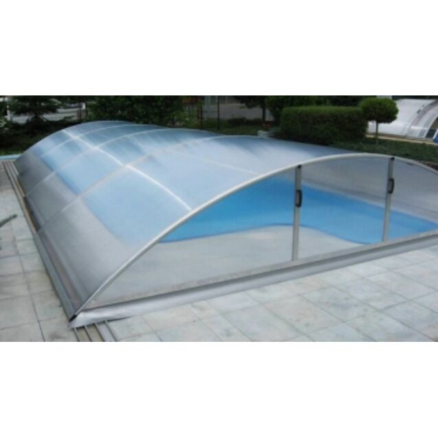 Павильон для бассейна KLASIK SMART B, секций 4, размер 8,56 х 4,7 х 1,3 м.