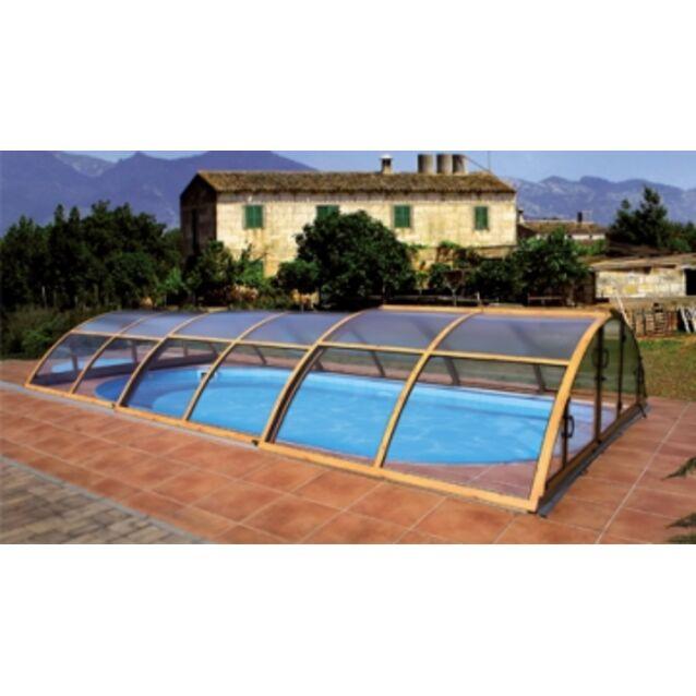 Павильон для бассейна KLASIK EXCELLENCE-A, размер 6,46 х 3,6 х 1 м.
