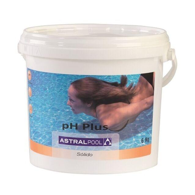 pH-плюс в гранулах, AstralPool 11386, 6 кг. Средство для повышения уровня pH воды