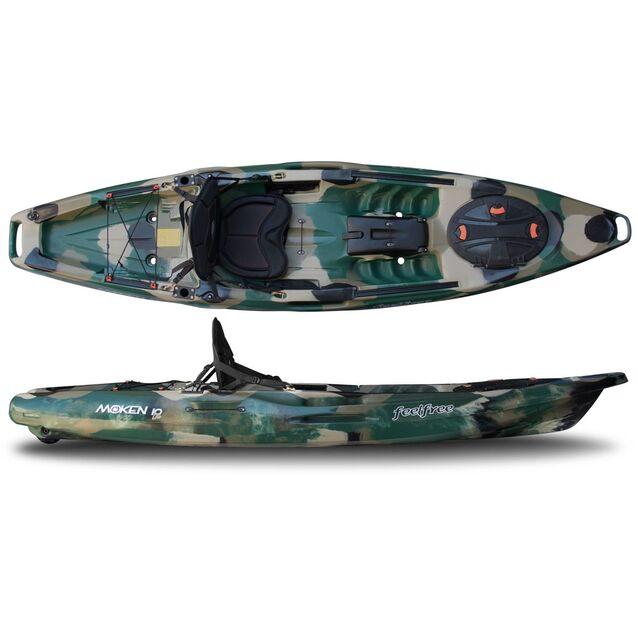 Каяк одноместный Feelfree «Moken 10 Lite» Forest Camo. Pазмер 315 × 79 см, грузоподъёмность 160 кг