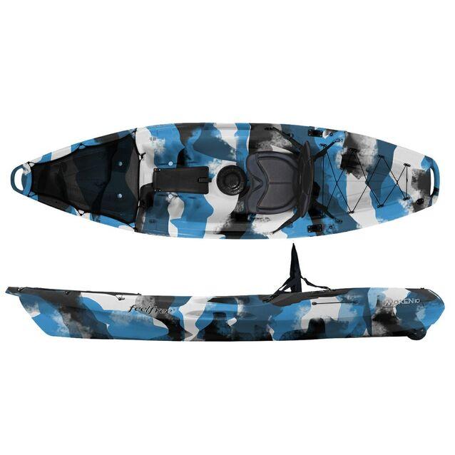 Каяк одноместный Feelfree «Moken 12 Standard» Navy Camo, размер 379 × 74 см, грузоподъёмность 180 кг