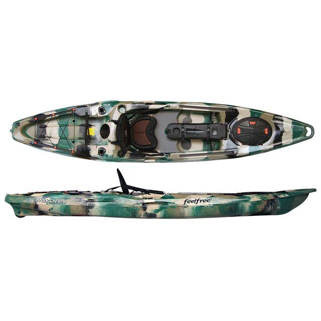 Каяк одноместный Feelfree «Moken 12.5» Forest Camo. Pазмер 385 × 82 см, грузоподъёмность 190 кг