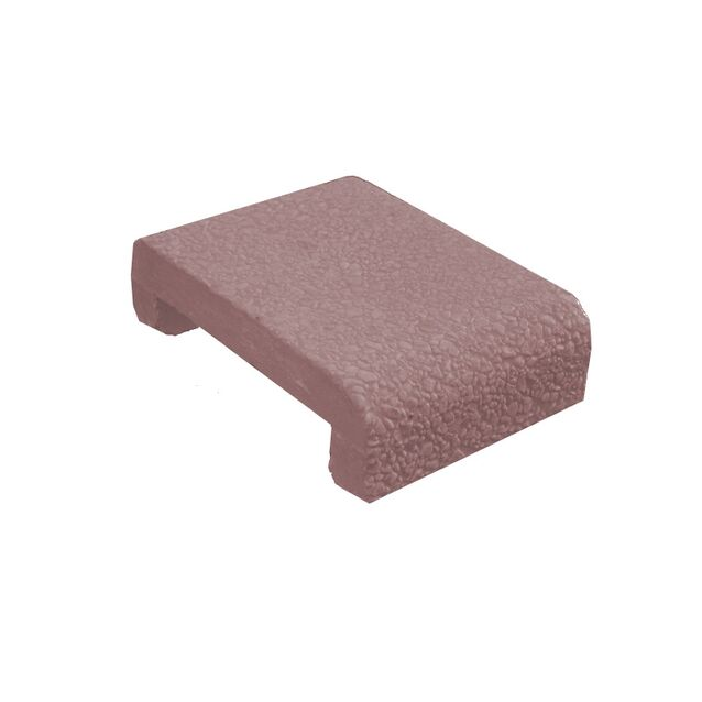 Бетонный бортовой копинговый камень «Terracotta Calm», AVANGARD