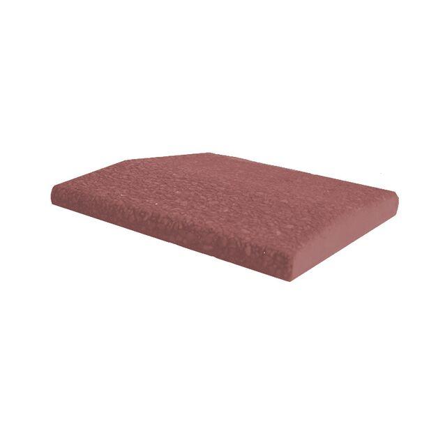 Бетонный бортовой копинговый камень «Terracotta Calm», LUX