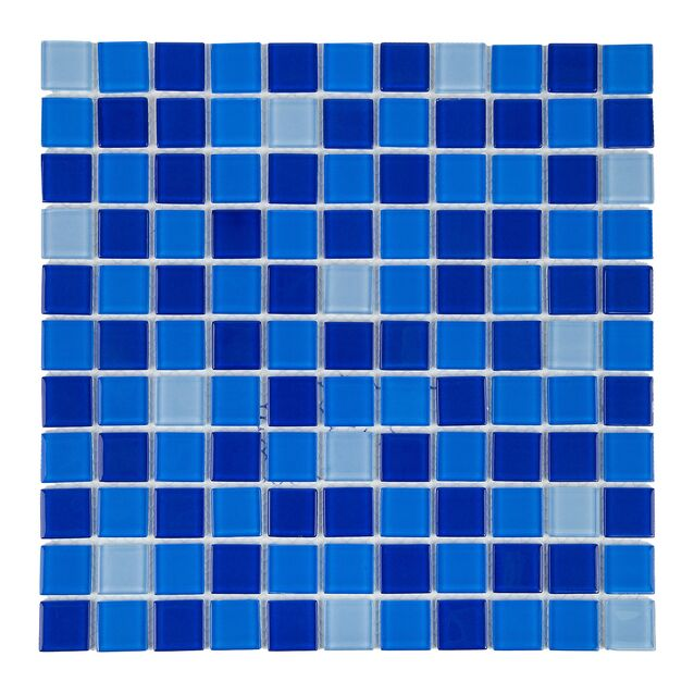 Мозаика стеклянная Jamaika Cristall тёмная (425001)