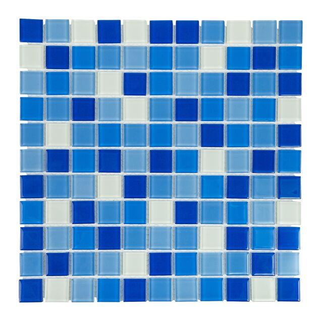 Мозаика стеклянная Cristall Bahama темная (425002)
