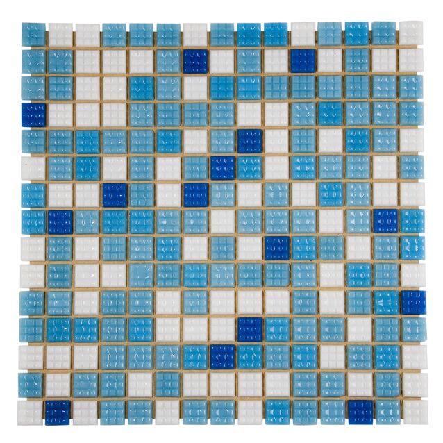 Мозаика стеклянная Mix Bahama светлая вариант 1 B2311N