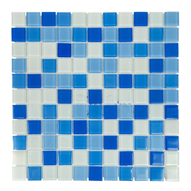 Мозаика стеклянная Cristall Bahama светлая классическая (SJH2564)