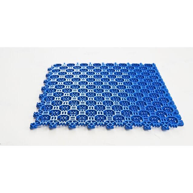 Напольное грязезащитное ПВХ-покрытие Optima, размер 250 × 250 × 9 мм