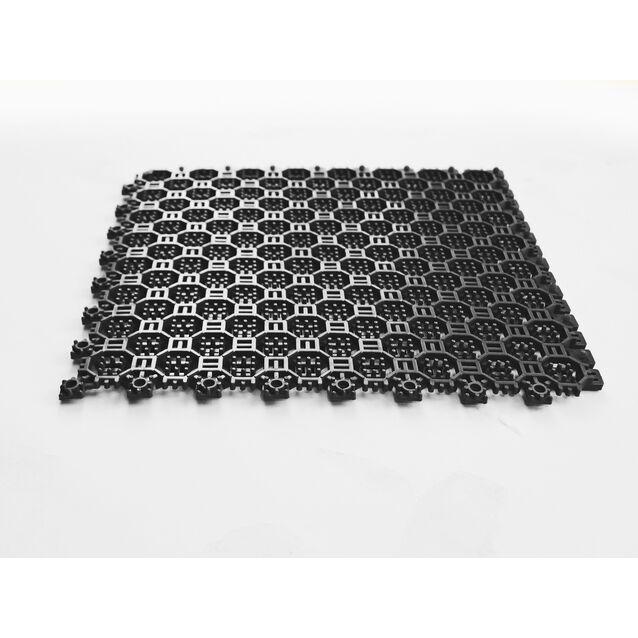 Напольное грязезащитное ПВХ-покрытие Optima, размер 250 × 250 × 16 мм