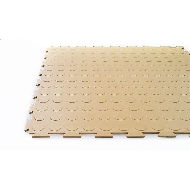 Напольное универсальное ПВХ-покрытие Sensor Avers, размер 500 × 500 × 7 мм