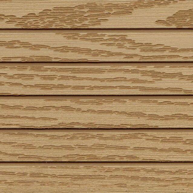 Террасная доска Terrapol КЛАССИК 50 «Дуб Севилья» Кантри, пустотелая с пазом