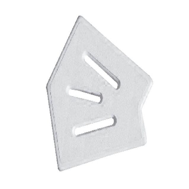 Угловой элемент Classic и Grift для переливной решетки 45° 150/25 мм (белый)