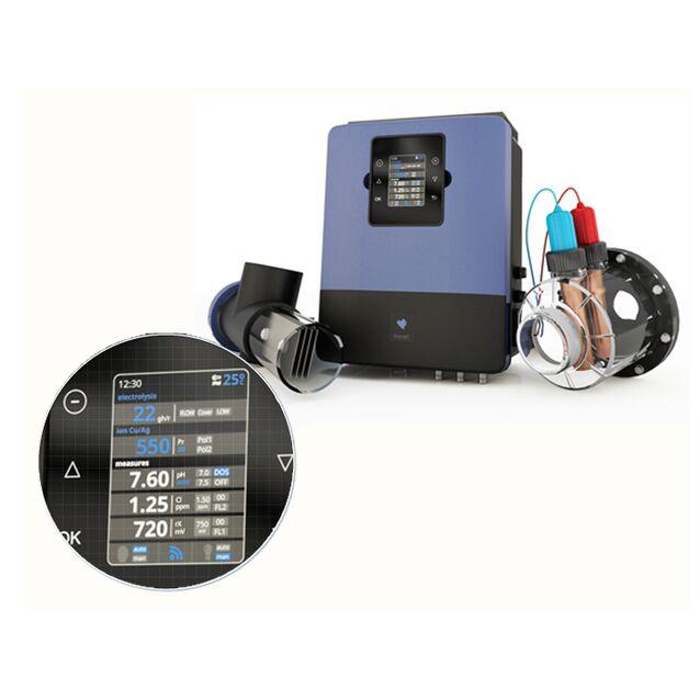 Электролизная система для дезинфекции воды Sugar Valley «Bionet» BIO 33. с ионизацией Cu/Ag и датчиками контроля Ph/Rx,  до 250 м³