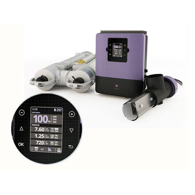 Гидролизная система для дезинфекции воды Sugar Valley «UVScenic» UV 33. с ультрафиолетовой установкой и датчиком контроля Ph/Rx,  до 200 м³