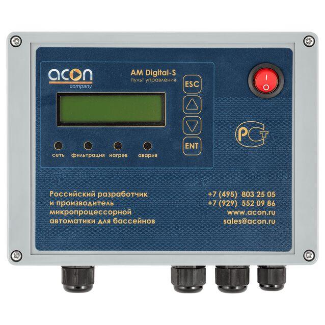 Пульт управления фильтрацией и подогревом Acon «АМ DIGITAL-S»