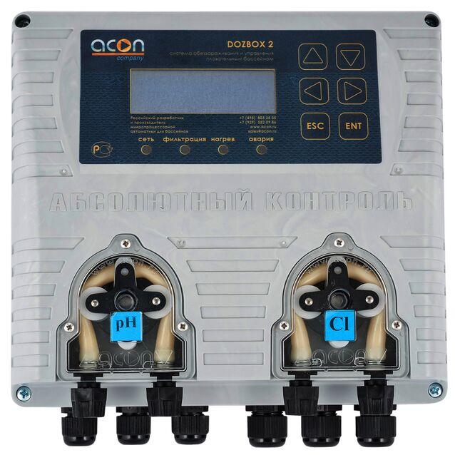 Универсальная станция химической дозации Acon «DOZBOX/2», до 250 м³