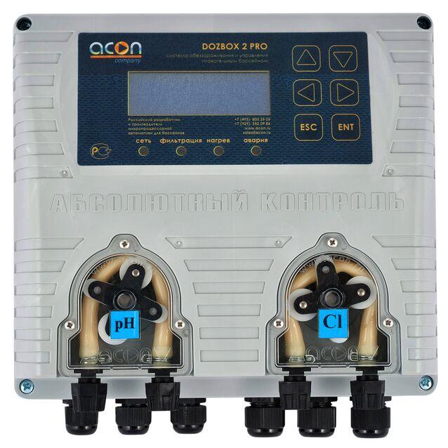 Универсальная станция химической дозации Acon «DOZBOX-PRO/2», до 250 м³