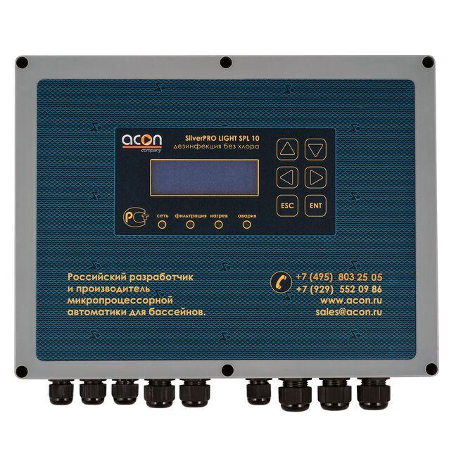 Станция автоматического управления бассейном Acon «SilverPRO LIGHT SPL 10.2», до 300 м³