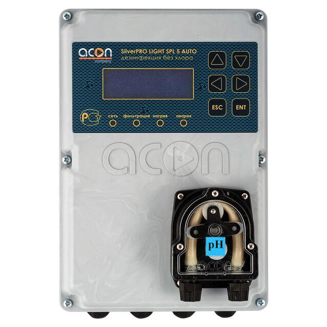 Станция автоматического управления бассейном Acon «SilverPRO LIGHT-AUTO SPL 5.1», до 50 м³