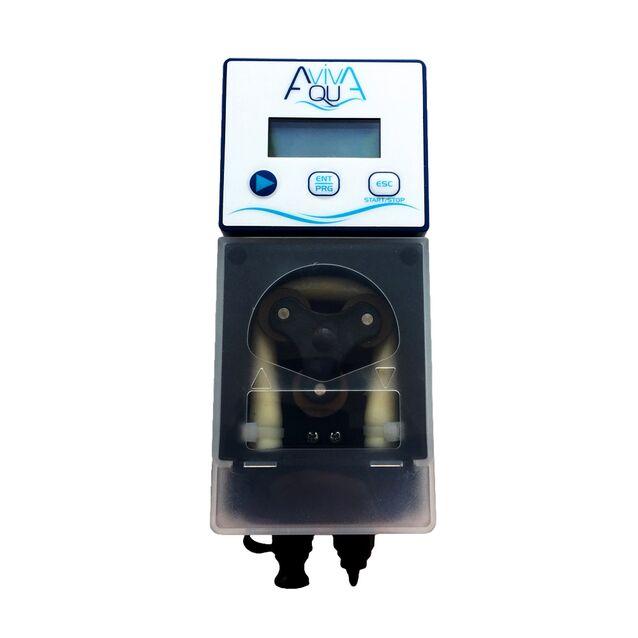 Перистальтический дозирующий насос AquaViva «KTHX1H07M1001», 7 л/час, Cl/pH, с авто-дозацией и регулируемой скоростью