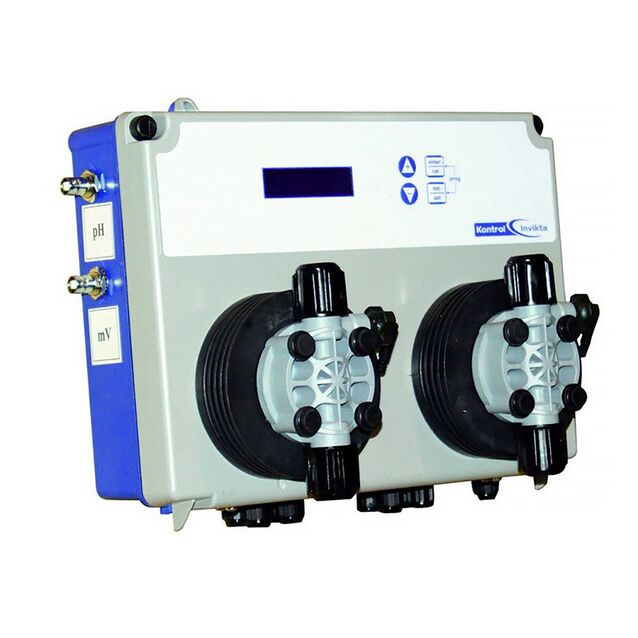 Система мембранных дозирующих насосов AquaViva «SPMBASEM0006» PH/RX 5 л/час + Измерительный набор, 2 шт.