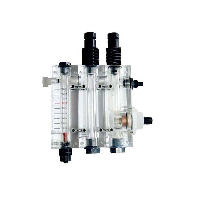 Ячейка AquaViva «9900103051» для измерения PH-RX-CL-датчик протока