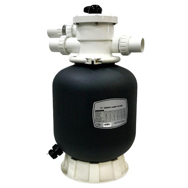 Фильтр песочный Aquaviva P400, загрузка песка 35 кг, верхнее подключение Ø 1.5 дюйма, 6.12 м³/час, Ø 400 мм