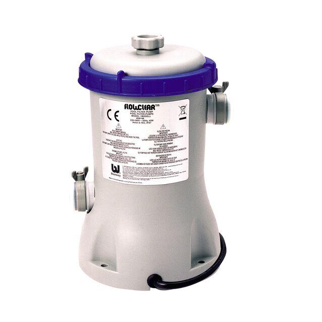 Фильтрационная установка картриджная Bestway «Flowclear» 58386/58117 производительность 3 м³/час