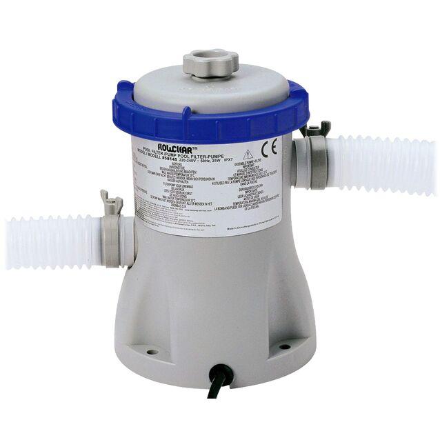 Фильтрационная установка картриджная Bestway «Flowclear» 58145. насос 0.25 кВт, 220 Вольт, IPX7, 1.3 м³/час