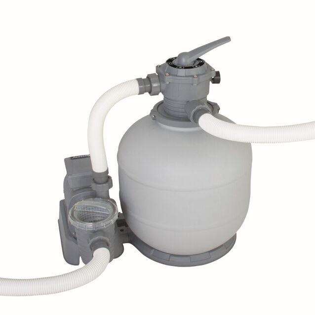 Фильтрационная установка песочная Bestway «Flowclear» 58366/58315, производительность 7.6 м³/час