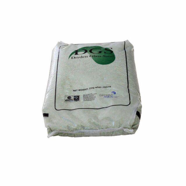 Фильтрующий материал DGS Dryden Aqua 11001, класс 1, фракция 0.3 - 1.0 мм (мешок 25 кг)