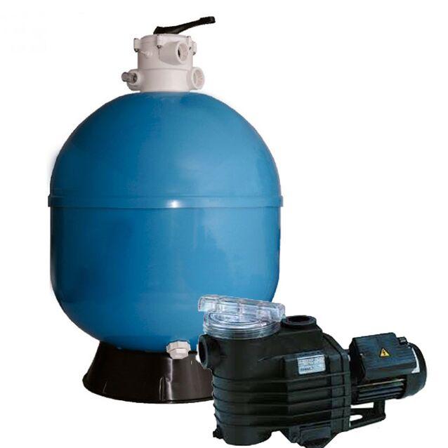 Фильтровальная установка Fiberpool VASO ZVTTR520-51, производительность 9,5 м³/ч, Ø 520 мм