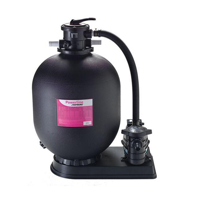Фильтрационно-насосная установка песочная Hayward 81073, «PowerLine D611», загрузка песка 150 кг, насос 0.92 кВт, 220 Вольт, 14 м³/час, Ø 611 мм