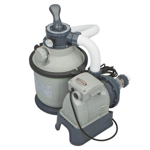 Фильтрационная установка песочная Intex 28644, насос 0.19 кВт, 220 Вольт, 4 м³/час, Ø 254 мм