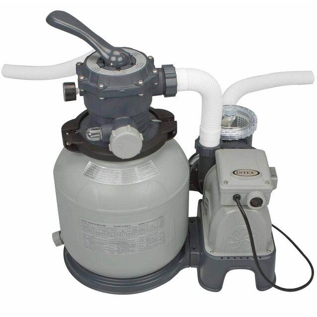 Фильтрационная установка песочная Intex 28646/56686, насос 0.37 кВт, 220 Вольт, 6 м³/час, Ø 305 мм