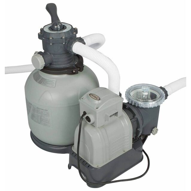 Фильтрационная установка песочная Intex 28648/56674, насос 0.55 кВт, 220 Вольт, 8 м³/час, Ø 360 мм
