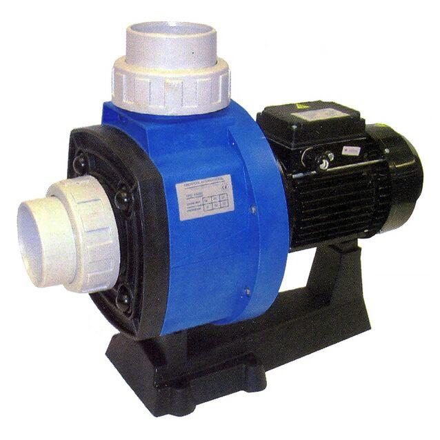 Насос без префильтра Fiberpool «BC350» XBBCT035. подключение Ø 90 мм, 3.7 кВт, 63 м³/час, 380 Вольт