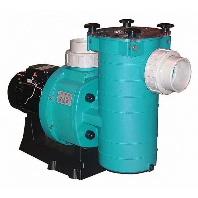 Насос с префильтром Fiberpool «BCP500» XBCPT056. подключение Ø 110 мм, 4.71 кВт, 64 м³/час, 380 Вольт