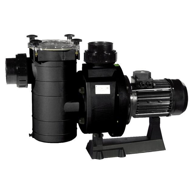 Насос с префильтром Fiberpool «KAN 1270 T2.B». подключение Ø 110 мм, 10.2 кВт, 137 м³/час, 380 Вольт