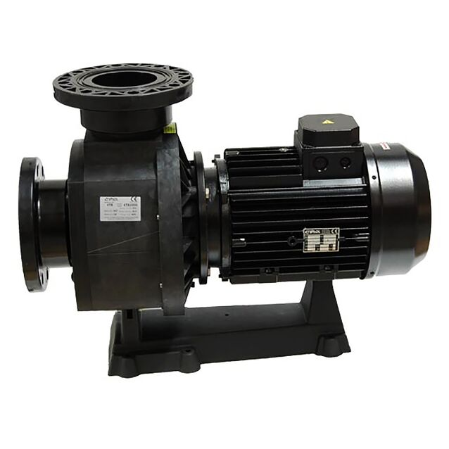 Насос без префильтра Fiberpool «KTB 1000 T2.B». подключение Ø 140 мм, 8.7 кВт, 108 м³/час, 380 Вольт