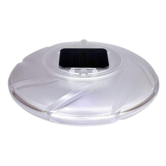 Лампа светодиодная плавающая на солнечной батарее Bestway 58111, Ø 180 мм