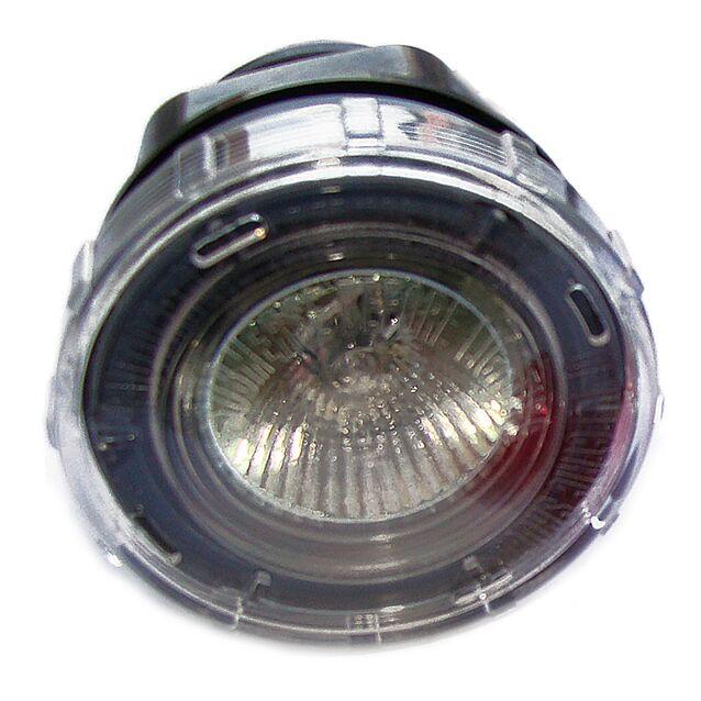 Прожектор галогенный Emaux 88040101 «UL-P50». [3 светофильтра], Ø 82 мм, IP68, 12 Вольт, 20 Вт, «под плитку»