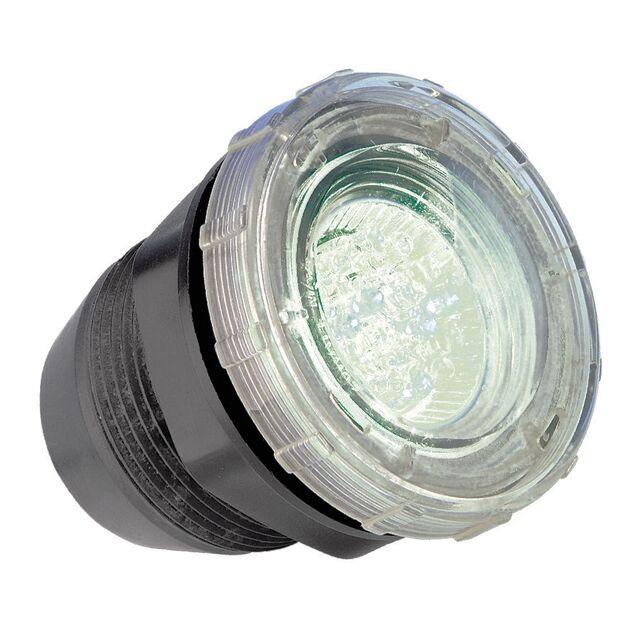 Прожектор светодиодный Emaux 88041101 «LED-P50». [Белый/RGB], Ø 82 мм, IP68, 12 Вольт, 1 Вт, «под плитку»
