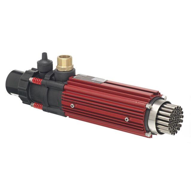 Теплообменник Elecro «G2-HE-85T», 85 кВт. Корпус AISI-316L, титановые трубки, подключение Ø 50 мм