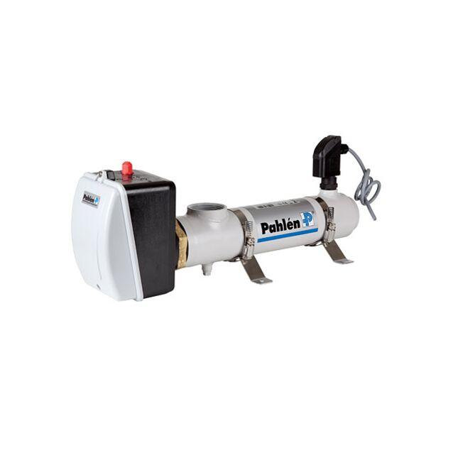 Электрический проточный нагреватель из нержавеющей стали Pahlén 13981412, 12 кВт, 380 В